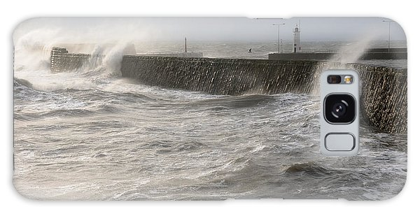 Scottish Sea Storm Galaxy Case