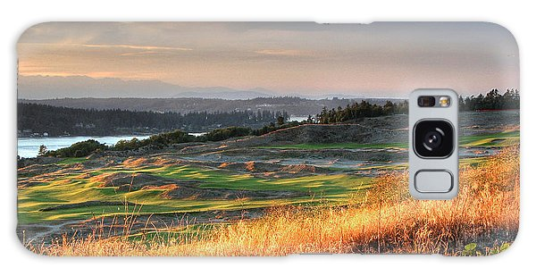 Scottish Style Links In September - Chambers Bay Golf Course Galaxy Case