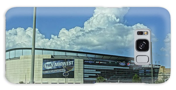 Scottrade Center Home Of The St Louis Blues Galaxy Case by Greg Kluempers