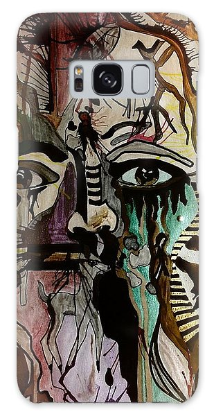 Scream Galaxy Case by Denise Tomasura