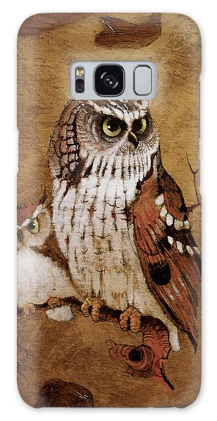 Screech Owls Galaxy Case by Richard Hinger