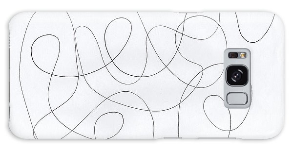 Scribble For 'banana Split' Galaxy Case