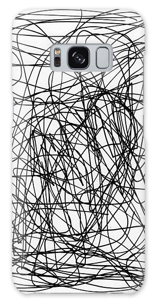 Scribble For M.l.b. Here I Come Galaxy Case