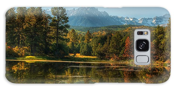 Scripture And Picture Psalm 23 Galaxy Case