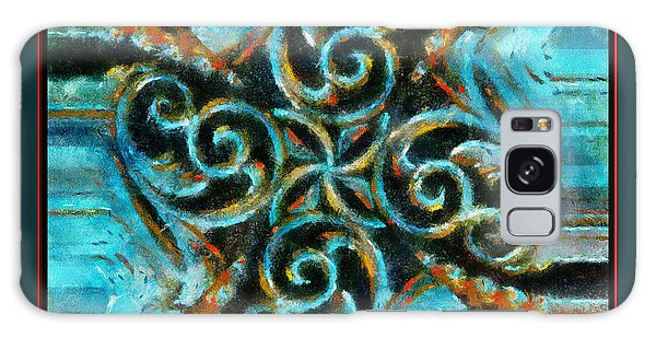 Scrollart Galaxy Case by Barbara R MacPhail