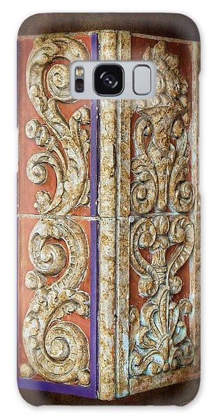 Scrolled Column Galaxy Case by Sylvia Thornton