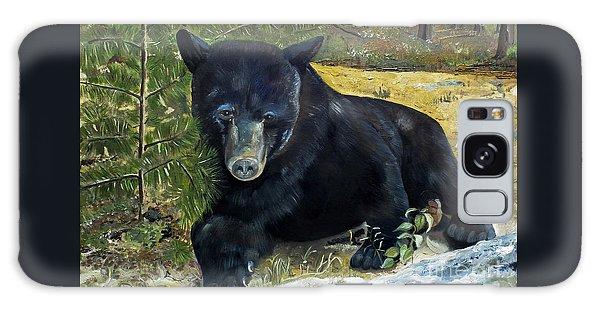 Scruffy - Black Bear - Unsigned Galaxy Case