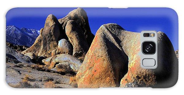 Sculpted Rock Alabama Hills Galaxy Case