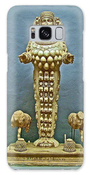 Sculpture Of Artemis-goddess Of Fertility In Ephesus Museum-turkey Galaxy Case