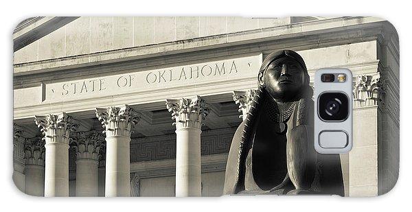 Sculpture Of Native American Galaxy Case