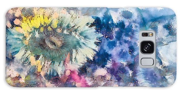 Sea Anemone Garden Galaxy Case