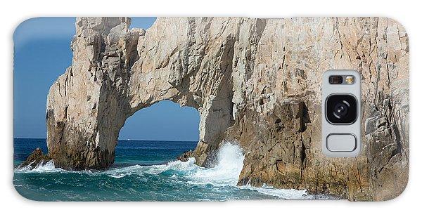 Sea Arch El Arco De Cabo San Lucas Galaxy Case by Allan Levin