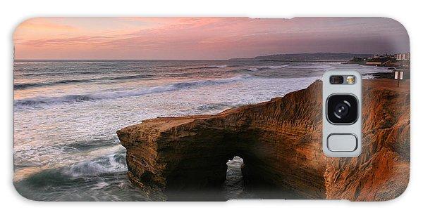 Sea Arch Winter Sunset Galaxy Case