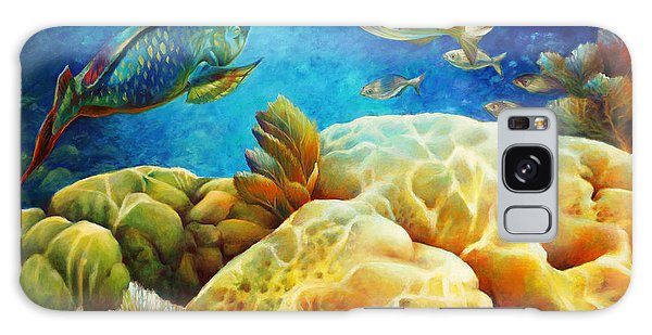 Sea Escape I -27x40 Galaxy Case by Nancy Tilles