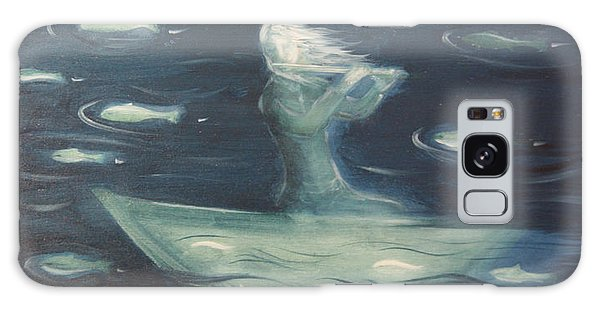 Sea Flute Melody Galaxy Case