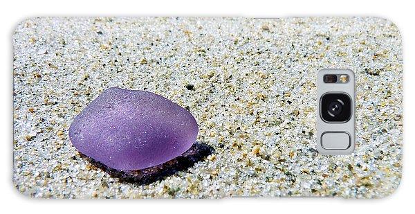 Sea Glass In Amethyst Galaxy Case