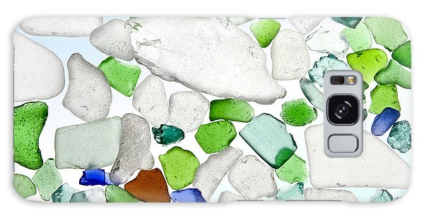 Sea Glass Galaxy Case by Michelle Wiarda