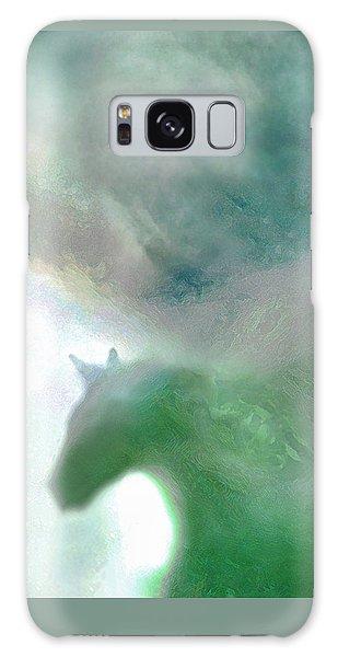 Sea Glass Storm Galaxy Case