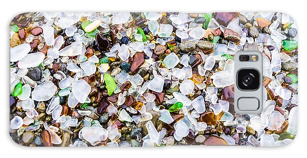 Sea Glass Treasures At Glass Beach Galaxy Case