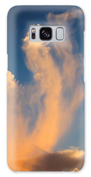 Sea Horse Clouds Galaxy Case