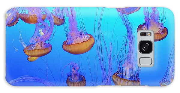 Sea-nettle Jelly Fish  Galaxy Case