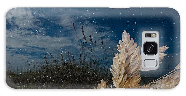 Sea Oat Beach Galaxy Case