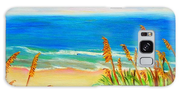 Sea Oat Path Galaxy Case