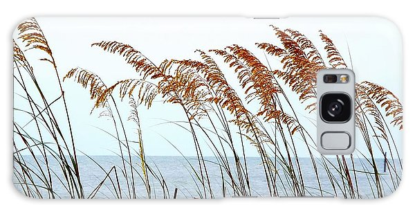 Sea Oats And Serenity Galaxy Case by Cindy Croal