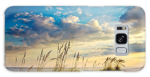 Beach Galaxy S8 Case - Sea Oats Sunset by Joan McCool