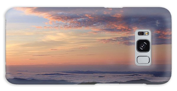 Sea Of Clouds Blue Ridge Mountains Galaxy Case