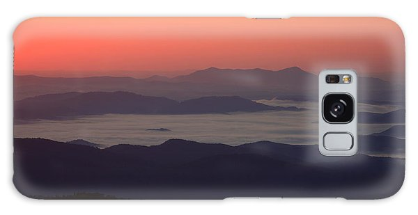 Sea Of Clouds-blue Ridge Mountains Nc Galaxy Case