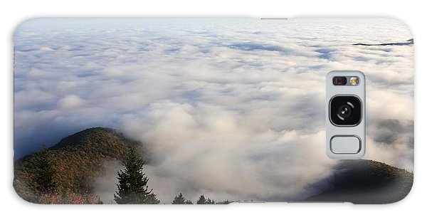 Sea Of Clouds On The Blue Ridge Parkway Galaxy Case