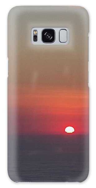 Sea Of Clouds Sunset Galaxy Case