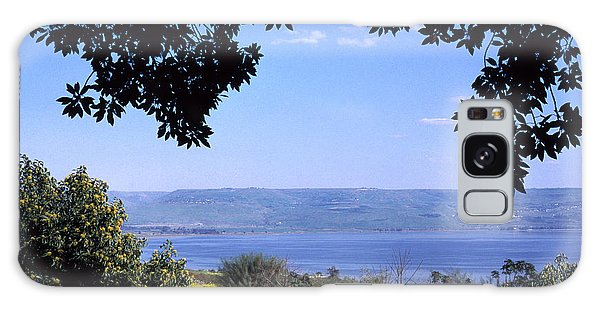 Sea Of Galilee From Mount Of The Beatitudes Galaxy Case