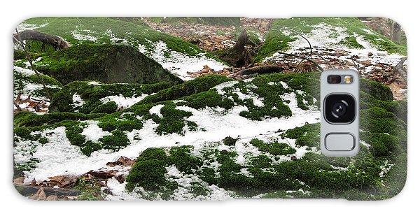 Sea Of Green Galaxy Case by Michael Krek