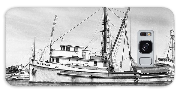 Purse Seiner Sea Queen Monterey Harbor California Fishing Boat Purse Seiner Galaxy Case