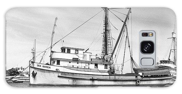 Purse Seiner Sea Queen Monterey Harbor California Fishing Boat Purse Seiner Galaxy Case