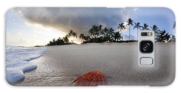 Sea Shell Sunrise Galaxy Case