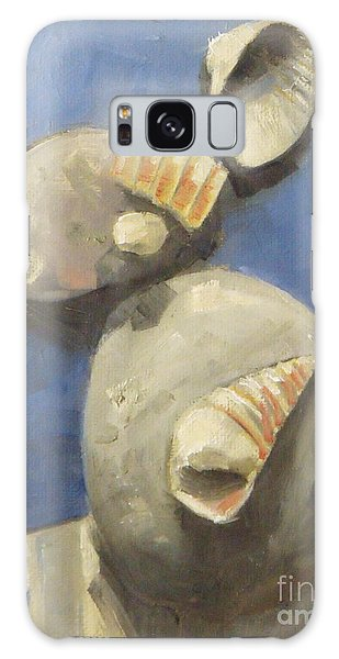 Sea Shells And Beach Stones Galaxy Case