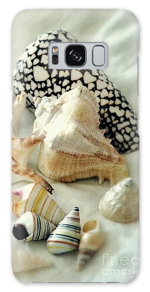 Sea Shells- Colorful Collection Galaxy Case by Darla Wood