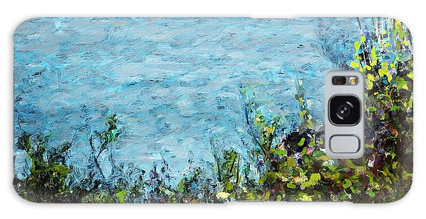 Sea Shore 1 Galaxy Case by David Lane