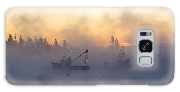 Sea Smoke Down East Maine  Galaxy Case by Trace Kittrell