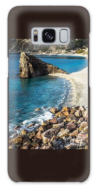 Sea Stack Of Monterosso Galaxy Case