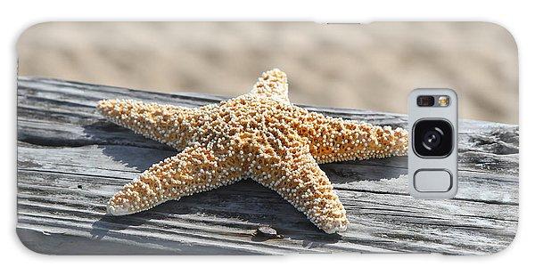 Sea Star On Railing Galaxy Case