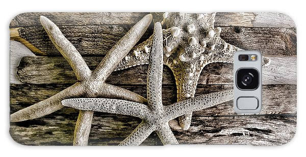 Sea Stars Galaxy Case by Colleen Kammerer