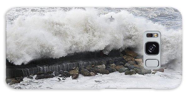 Sea Storm  Galaxy Case by Antonio Scarpi
