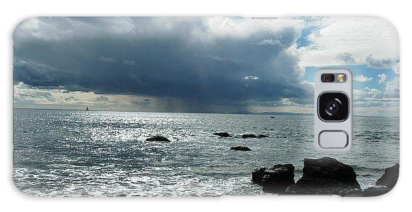 Sea Storm Galaxy Case