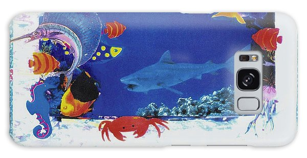 Sea Survival No Spills Galaxy Case by Mary Ann  Leitch