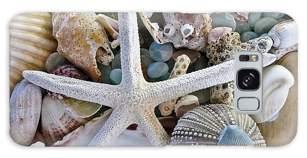 Seashore Galaxy Case - Sea Treasure by Colleen Kammerer