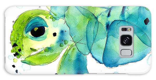 Sea Turtle Galaxy Case by Dawn Derman